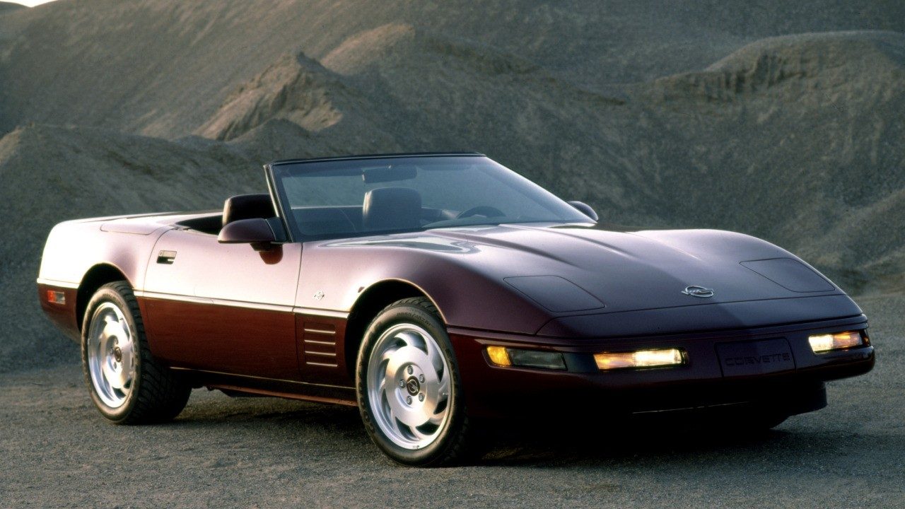 Top Corvettes - 1993 40th Anniversary Corvette ZR1