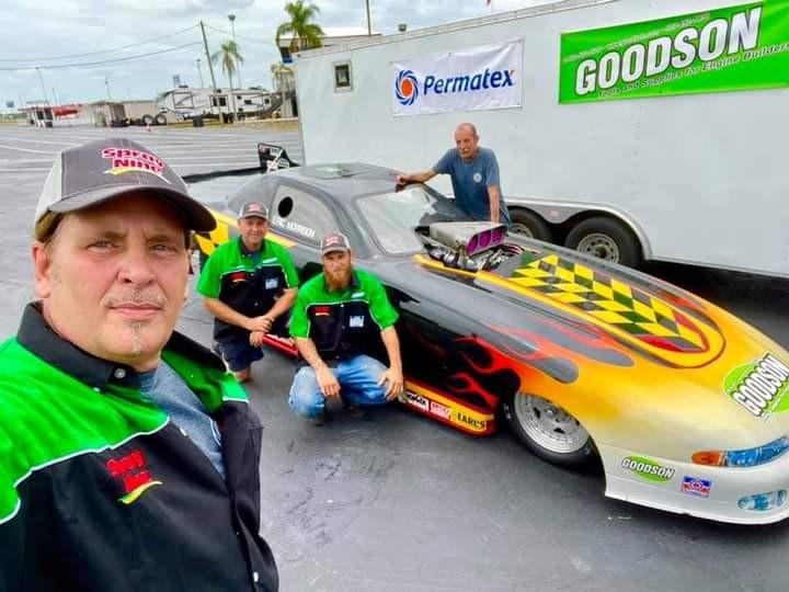 RYNO Spotlights Funny Car Racer Eric Morrison of Tampa, Florida