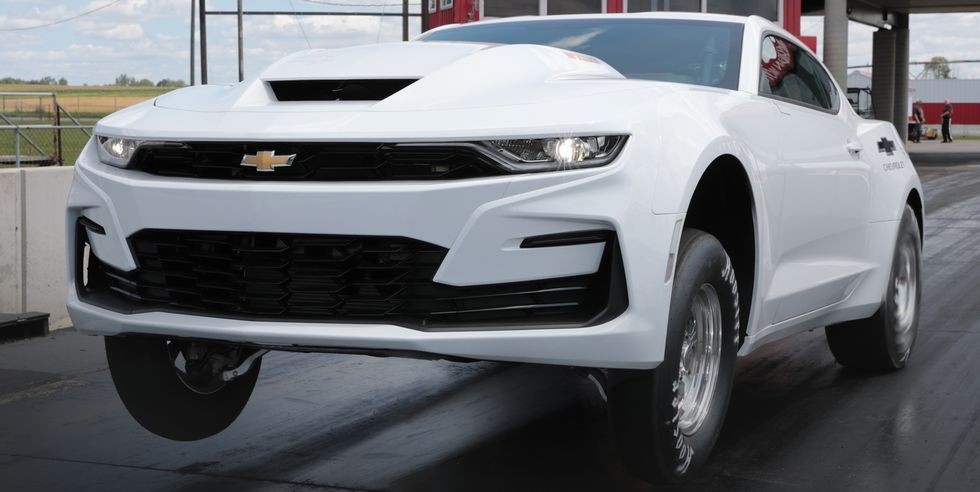 The Big Block Camaro Returns ... But only Drag Racers are Allowed to Buy One!
