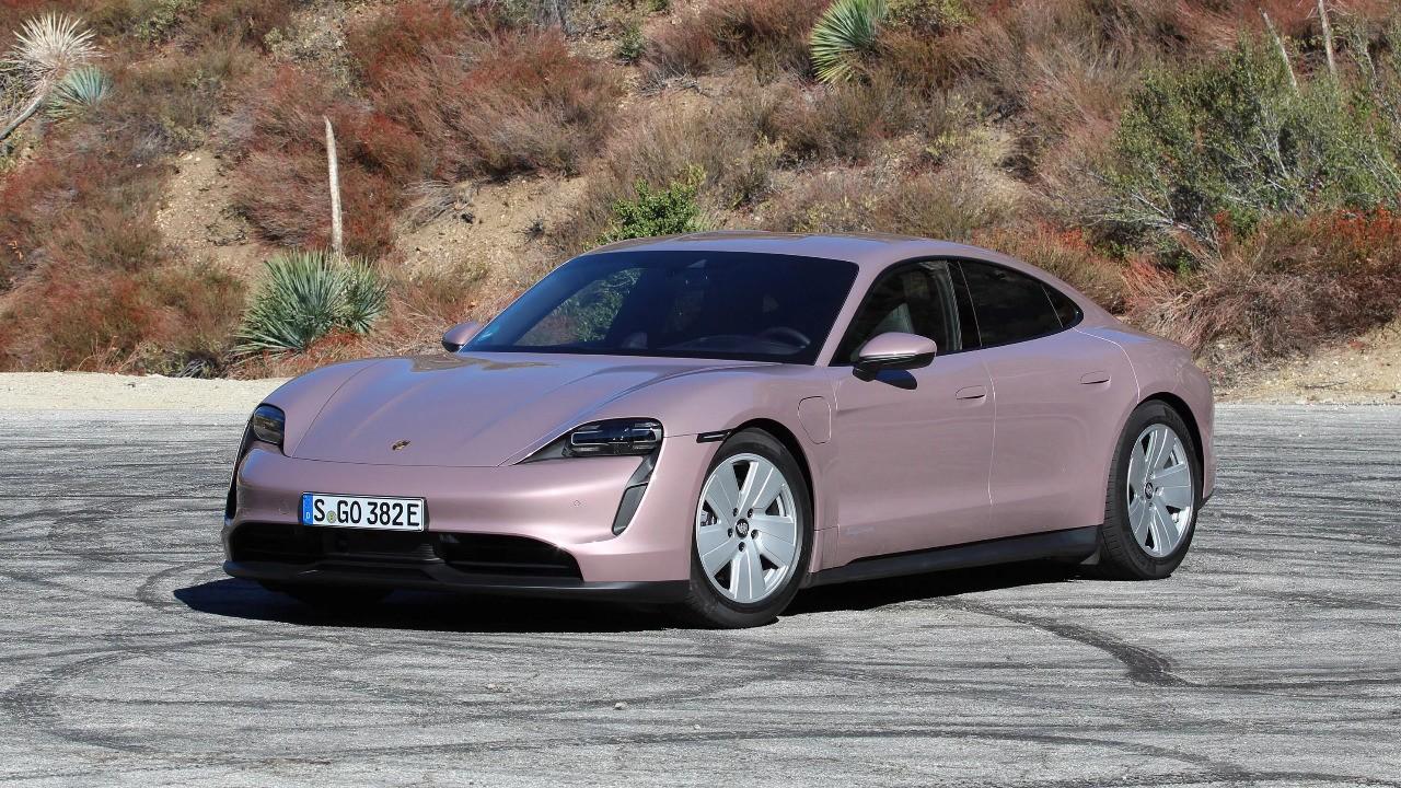 Porsche is Pretty in Pink