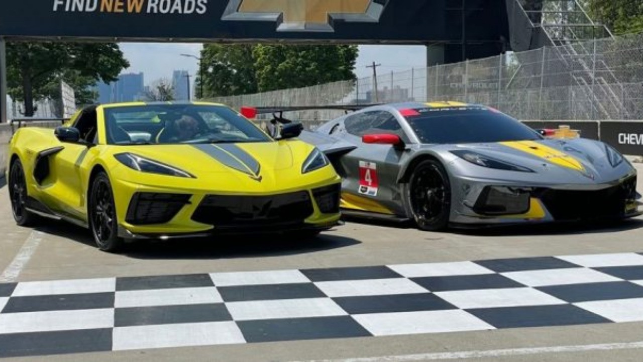 Chevy Celebrates IMSA Win With Special-Edition Corvette
