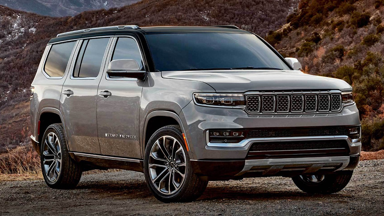Chicago Auto Show Debut - 2022 Jeep Wagoneer