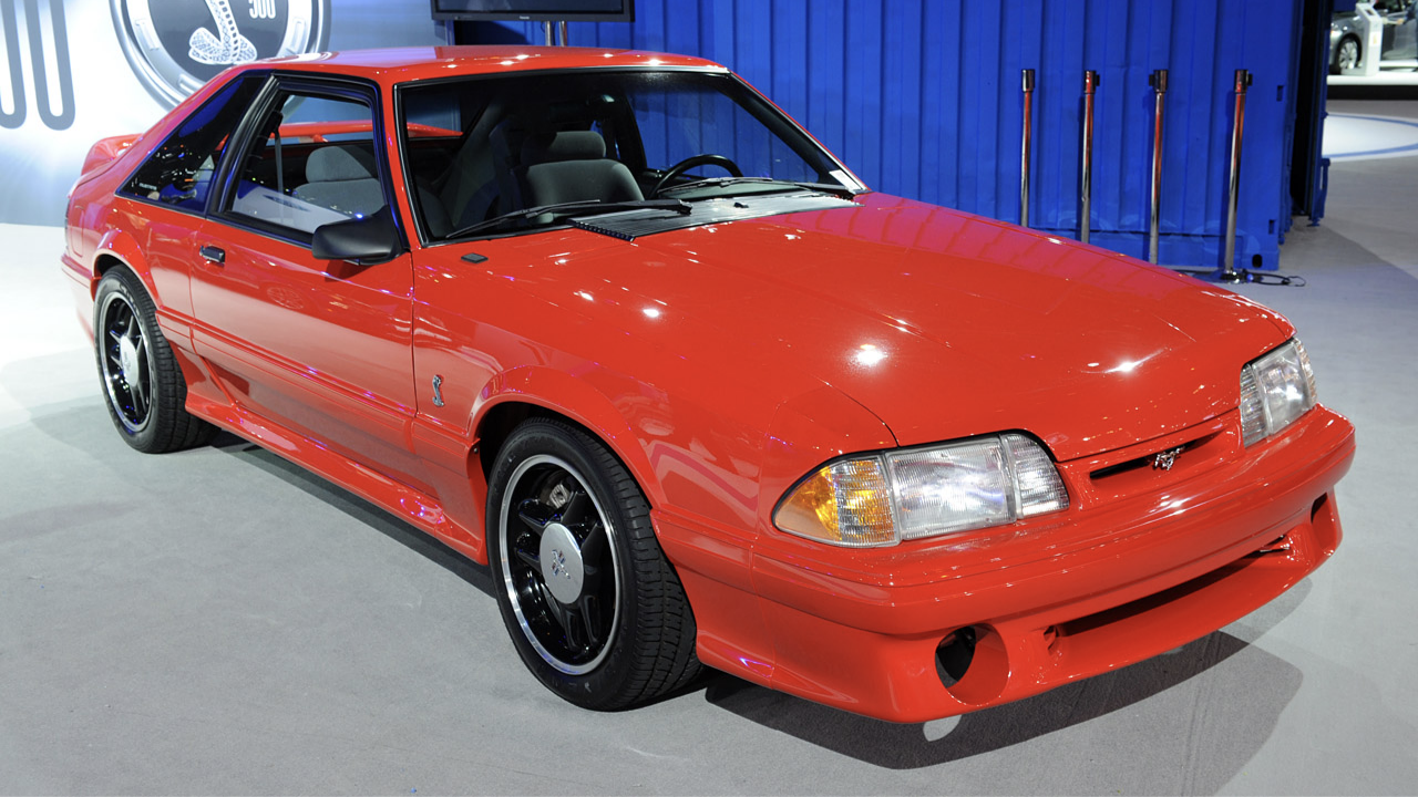Top Mustangs - 1993 SVT Cobra R
