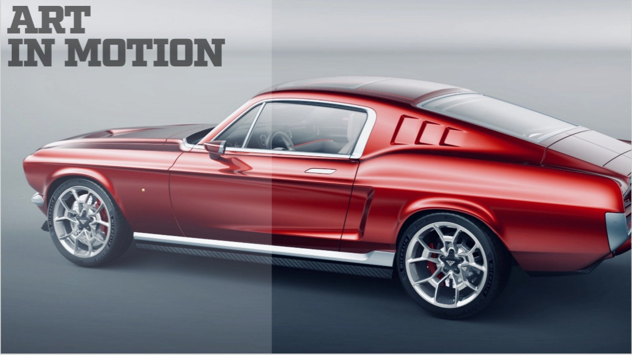 """The Tesla Mustang - The Perfect """"0-60 mph in 2.2 Seconds"""" Mashup"""