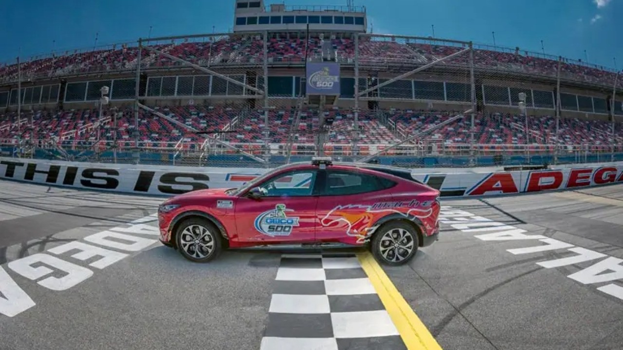 Electric Ford Crossover to Pace Famous American Superspeedway