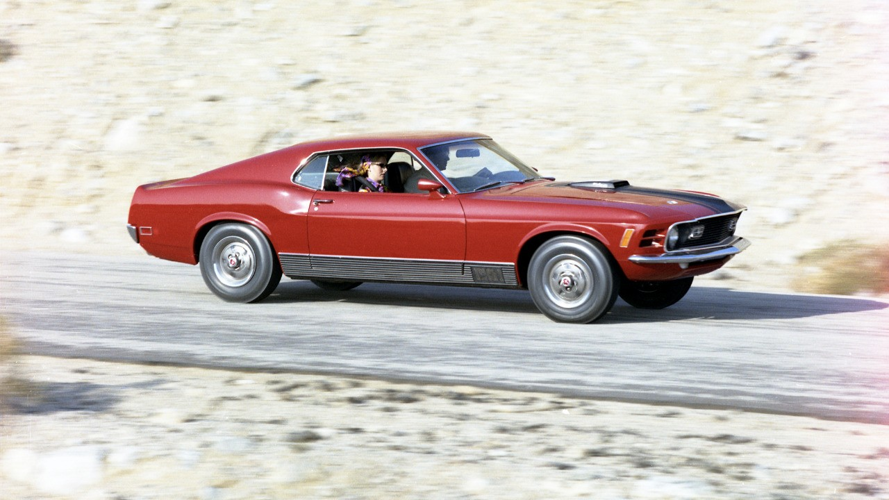 Top Mustangs - 1970 Mach 1 Super Cobra Jet