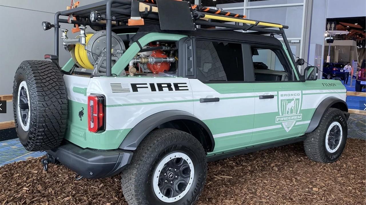 Chicago Auto Show Concepts - The Bronco + Filson Wildland Fire Rig