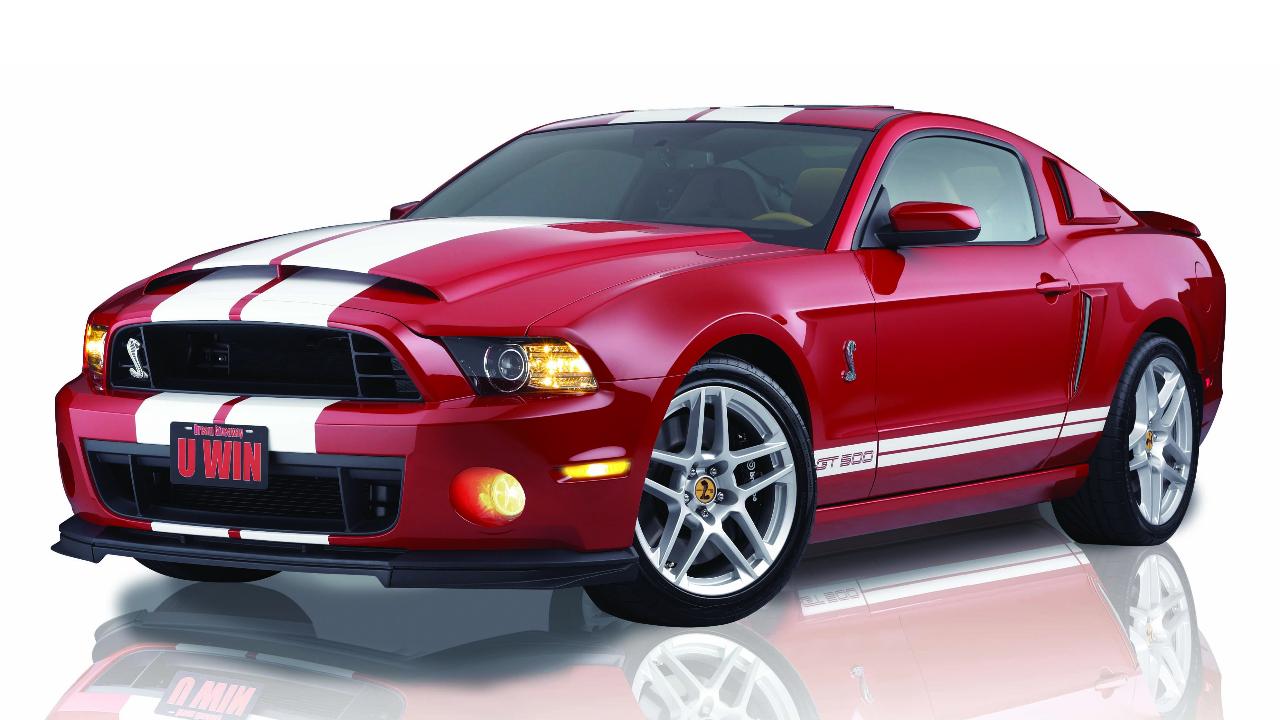 Top Mustangs - 2013 Shelby GT500