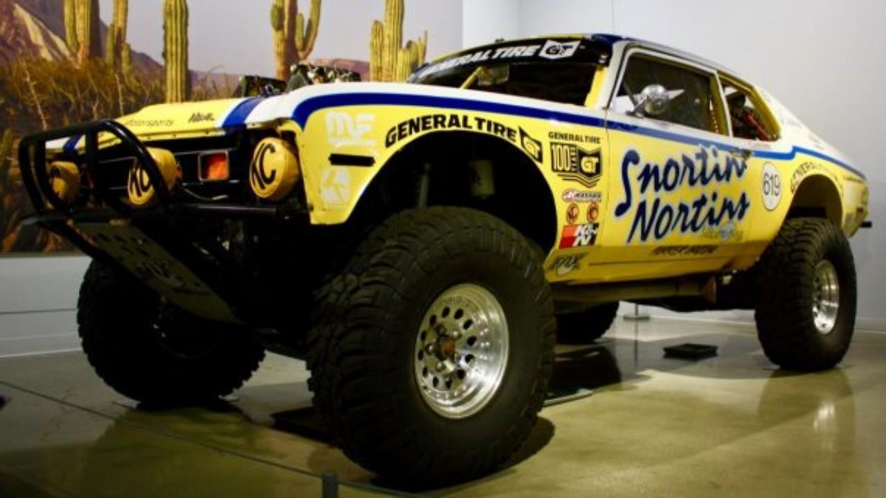 Snortin' Nortin Nova Stars in Peterson Museum's Extreme Conditions Exhibit