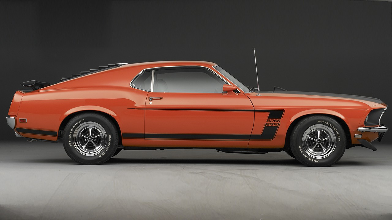 Top 10 Mustangs - 1969 Boss 302