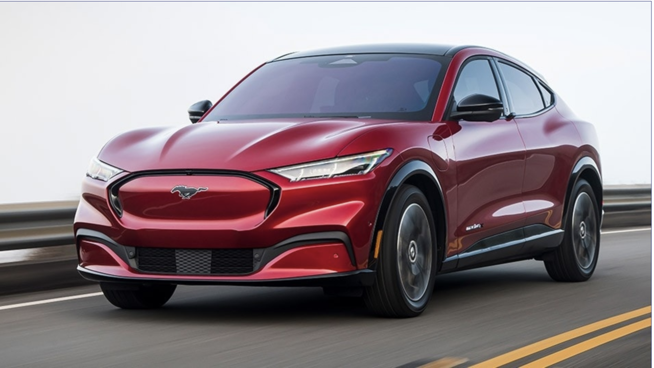Mach E is Car and Driver's EV of the Year