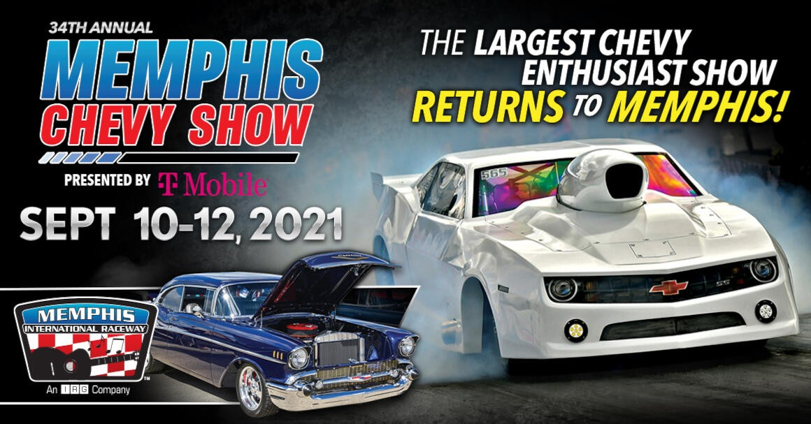 Come See RYNO at the 34th Annual Memphis Chevy Show