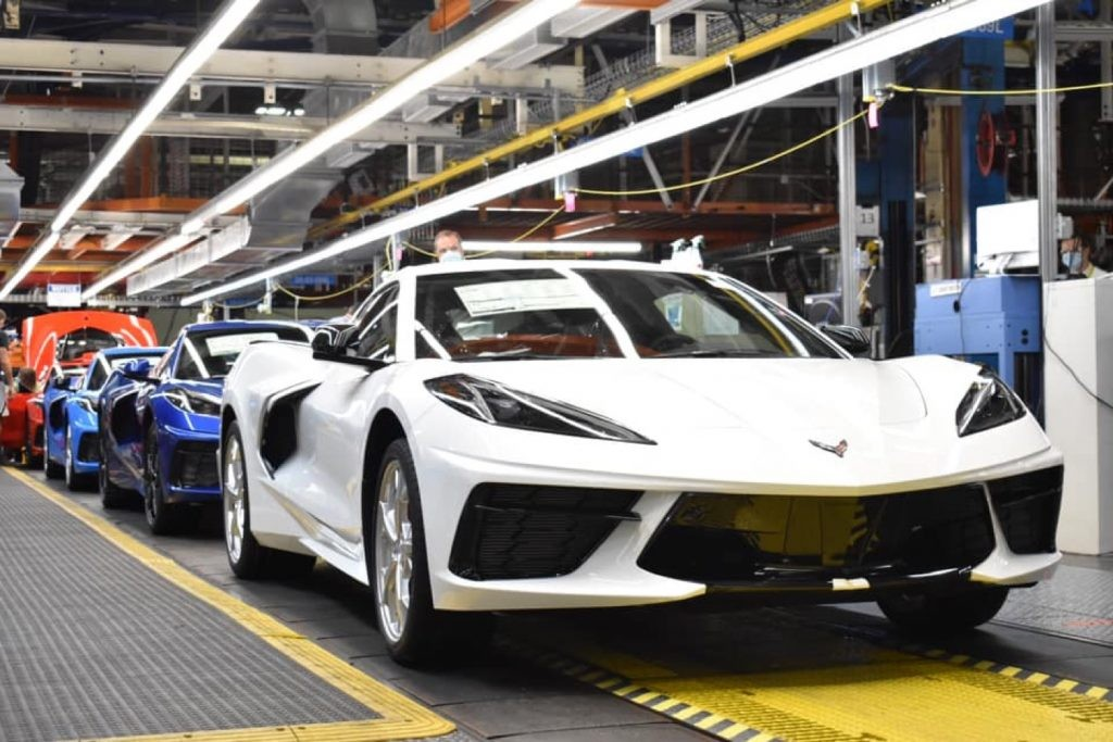Guess How Many Corvettes They Made in 2021