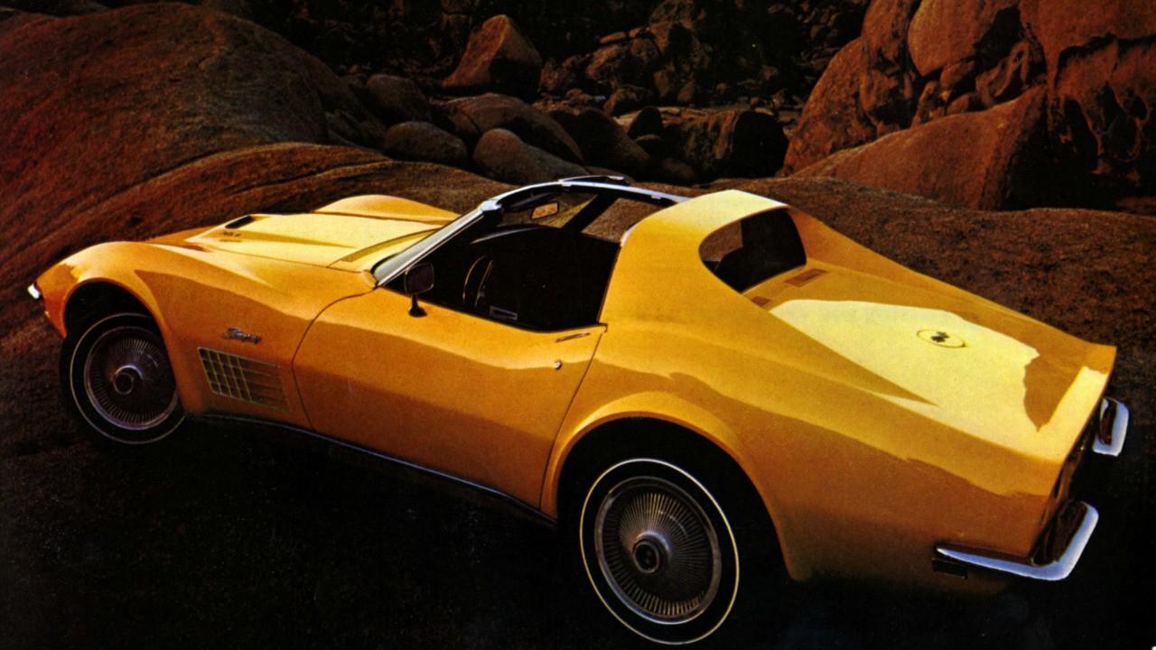 Top Corvettes - 1970 Corvette LT1