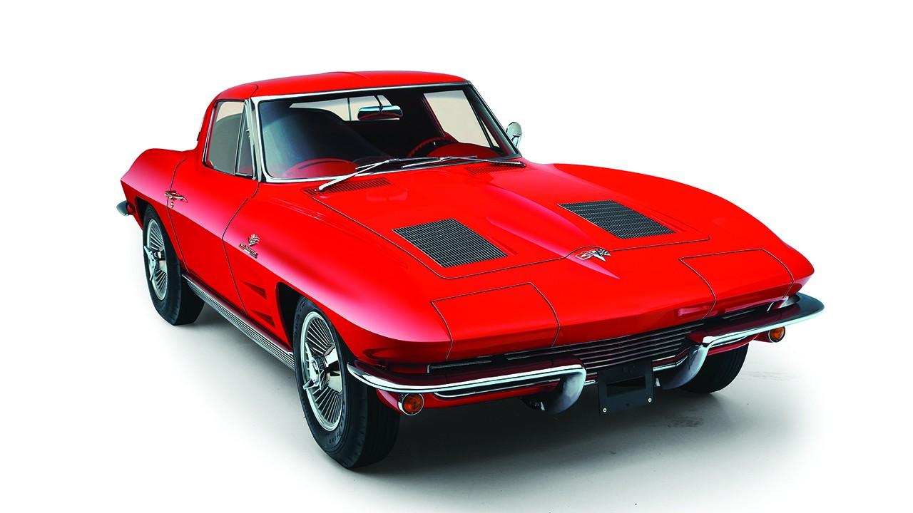 Top 10 Corvettes - 1963 Stingray Coupe