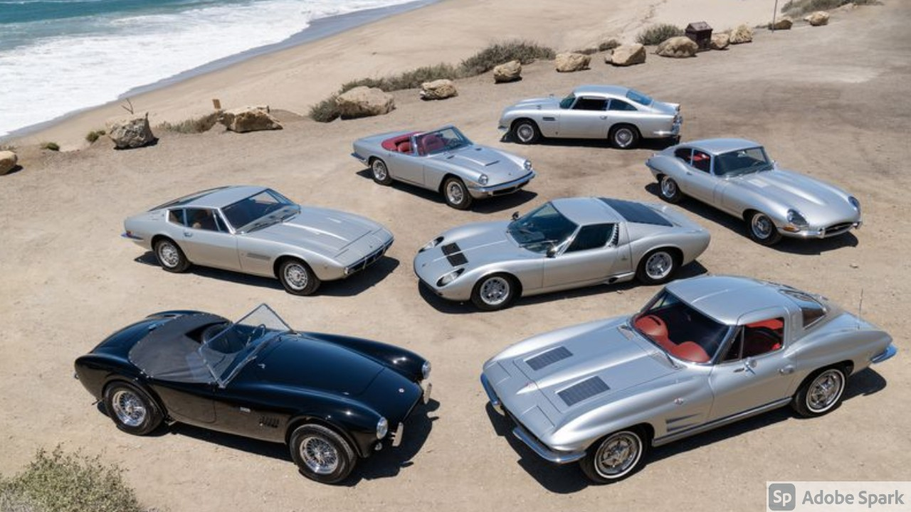 Rush Drummer's Silver Surfers Car Collection Up for Grabs