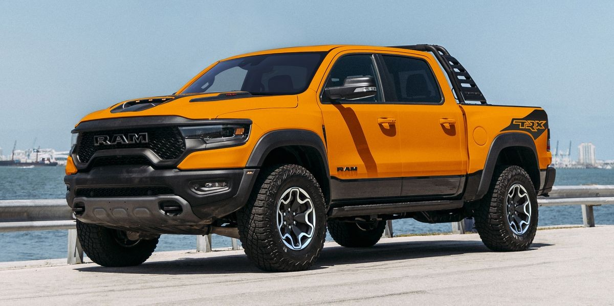 Orange You Glad For RAM's new Ignition Edition TRX?