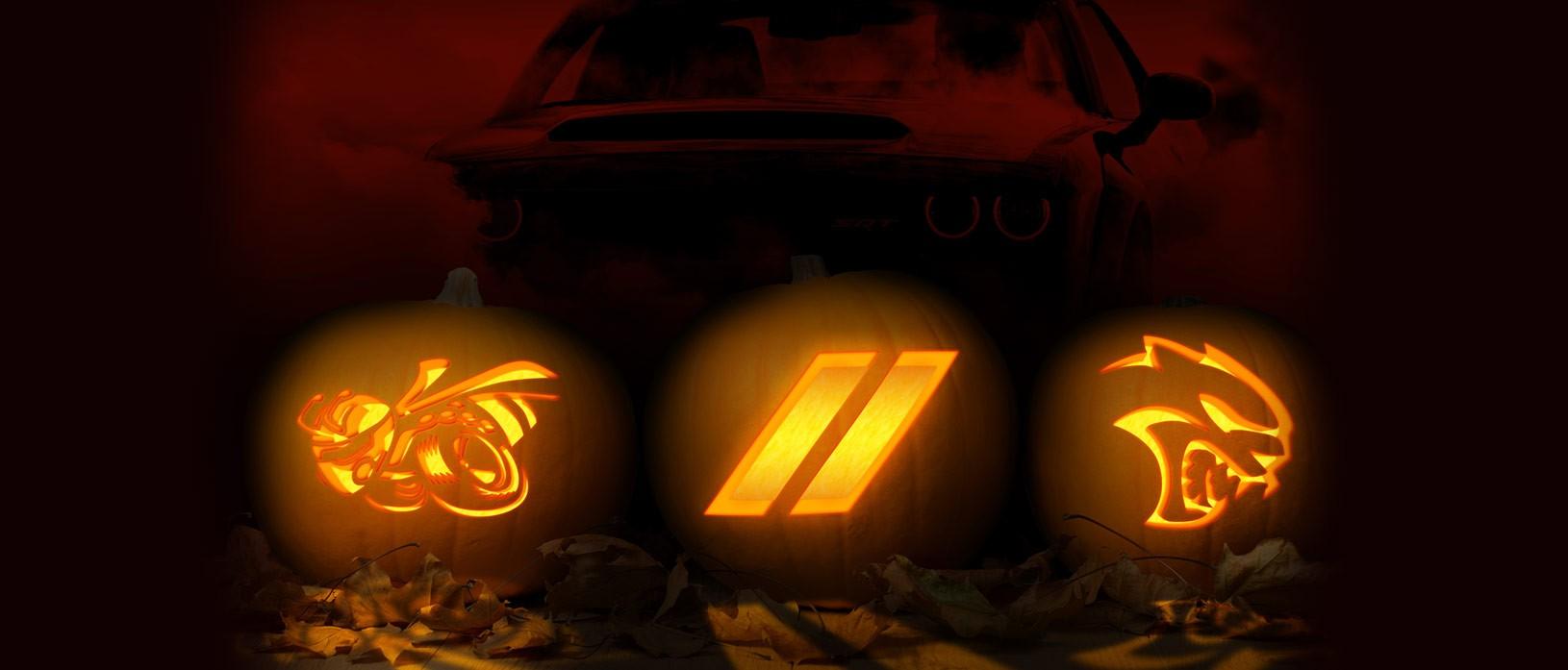 Dodge Releases Halloween Pumpkin Stencils.