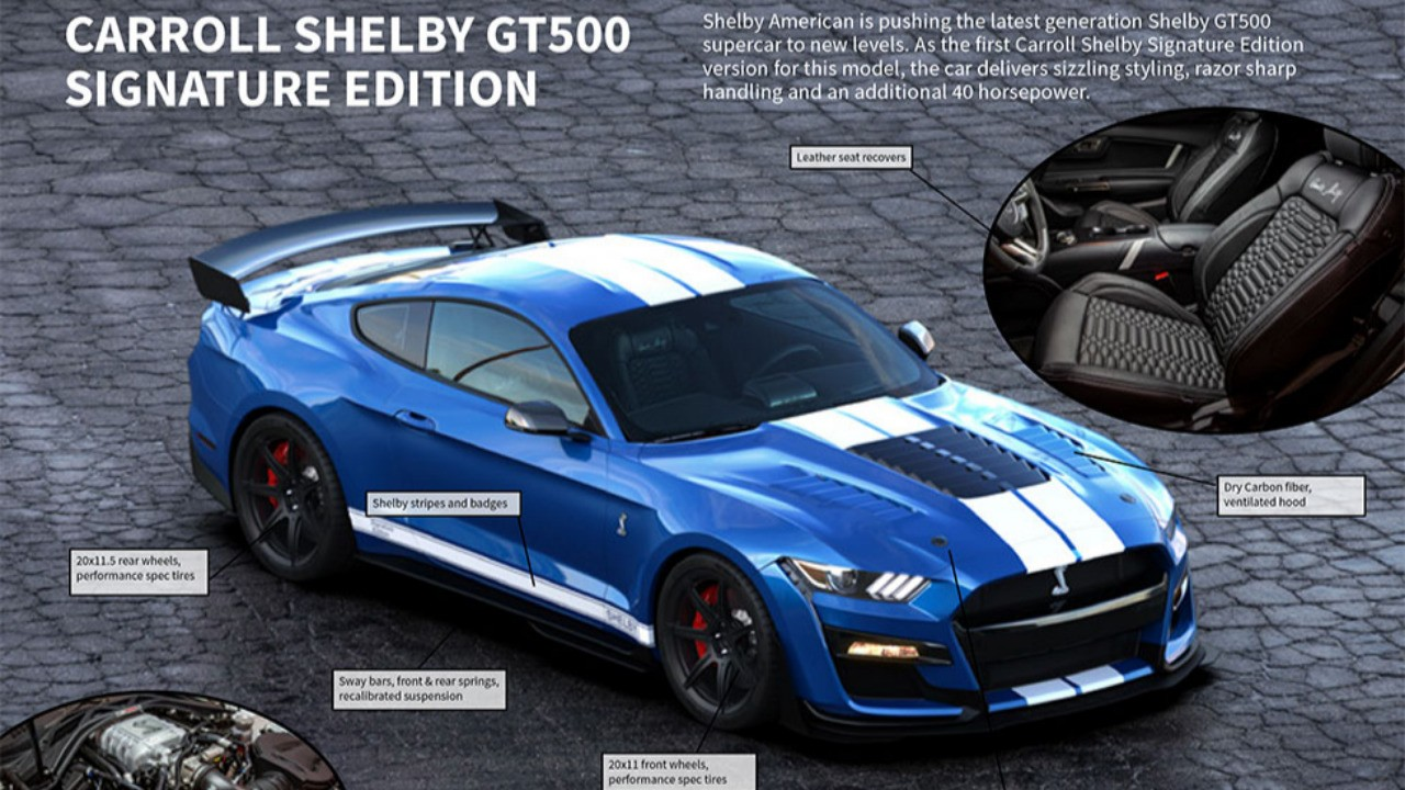 """Shelby Introduces Limited Edition """"Bundle of Snakes"""" Mustang Trio"""