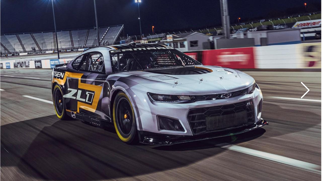 Chevy Reveals Next Gen NASCAR Camaro